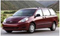 Minivan rental deals in the San Jose Bay Area CA