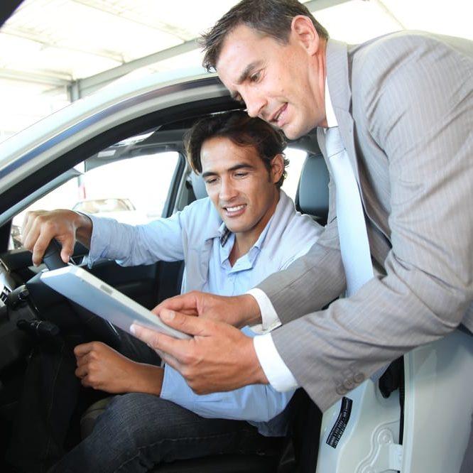 car rental company